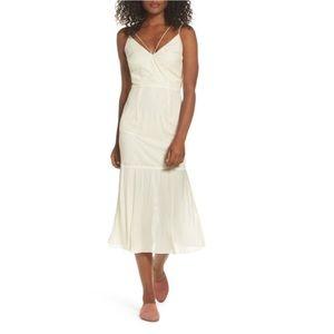 Cooper St Papara Lace Midi Dress Ivory